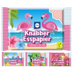 Küchle Knabber-Esspapier Flamingo Edition 12er