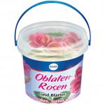 Küchle Oblaten-Rosen und Blätter 6er