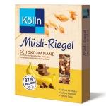 Kölln Müsli-Riegel Schoko-Banane 4×25g