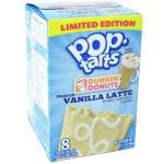 Kellogg's Pop-Tarts Dunkin'Donuts Frosted Vanilla Latte