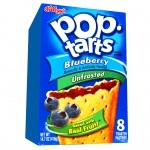 Kellogg's Pop-Tarts Blueberry Unfrosted 8er