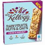 Kellogg Raw Fruits, Nuts & Oats Cacao & Hazelnut 4x30g