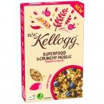 Kellogg Superfood Crunchy Müsli Cranberry & Linseeds