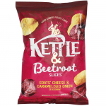 Kettle & Beetroot Slices Goats' Cheese & Caramelised Onion 100g