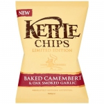 Kettle Chips Baked Camembert & Oak Smoked Garlic 150g