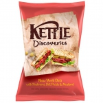 Kettle Discoveries Ney York Deli with Pastrami, Dill Pickle & Mustard
