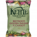 Kettle Vegetable Chips Beetroot, Golden Parsnip & Carrot