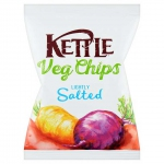 Kettle Vegetable Chips Golden Parsnip, Sweet Potato & Beetroot 40g