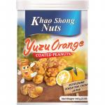 Khao Shong Nuts Yuzu Orange Coated Peanuts 140g