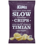 KiMs Slow Cooked Chips med Sour Cream, Ramsløg & Timian