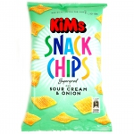 KiMs Snack Chips Sour Cream & Onion 165g