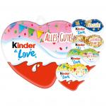 kinder & Love Herz Silvester 37g