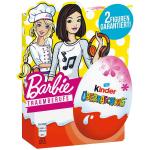 "kinder Überraschung Rosa-Ei ""Barbie Traumberufe"" 4er"
