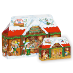 kinder Mix Adventskalender 3D Haus