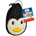kinder Mix Plüsch-Tasche Pinguin