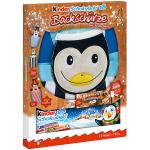 kinder Schokolade mit Backschürze Pinguin