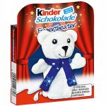 kinder Schokolade Fingerpuppe Eisbär