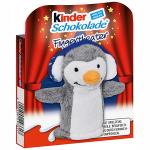kinder Schokolade Fingerpuppe Pinguin