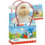 kinder Schokolade Mini-Geschenktüte Lamm weiß 50g