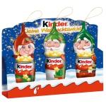 kinder Schokolade kleine Weihnachtswichtel 3×15g