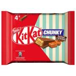 KitKat Chunky Salted Caramel Fudge 4er