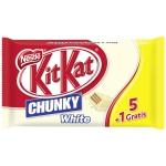 KitKat Chunky White 5er + 1 gratis