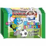 Knabbi Knabber Esspapier Fußball-Edition 5x25g & Fan-Schminke