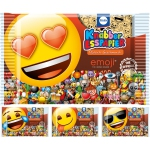 Knabbi Knabber-Esspapier Pfirsich Emoji 10er Pack