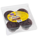 Kuchenmeister Muffins Schoko 4er