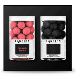 Lakrids by Johan Bülow - Geschenkbox Caramel Rouge & Black Snowball 2x250g