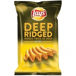 Lay's Deep Ridged Naturel