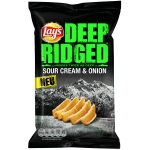 Lay's Deep Ridged Sour Cream & Onion