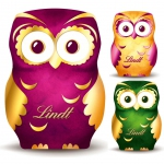 Lindt Eule Hohlfigur Milch