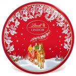 Lindt Lindor Milch Nostalgie Runddose 350g