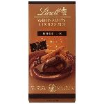 Lindt Weihnachts-Chocolade Edelbitter 100g