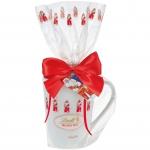 Lindt Weihnachtsmann-Tasse, gefüllt