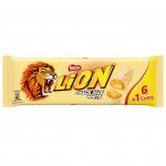 Lion Snack Size White 6er + 1 gratis