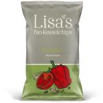 Lisa's Bio-Kesselchips Paprika 40g