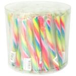 LollyMaster Mini-Zuckerstangen Regenbogen 75er