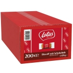 Lotus Biscoff mit Schokolade 200er