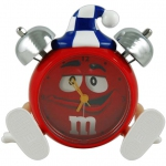 m&m's Choco Alarm Clock Red