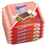 Manner Snack Milch-Haselnuss 5x25g