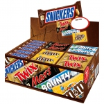 Mars Chocolate 72er Topseller-Box