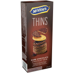 McVitie's Thins Dark Chocolate 150g