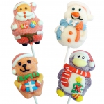 Mellow Mellow Marshmallow Christmas Lolly 4er