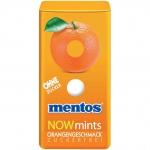 mentos NOWmints Orangengeschmack zuckerfrei