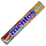 mentos Watermelon Mango Orange 8x14er Jumbo-Rolle