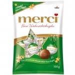 merci Feine Weihnachtskugeln Mandel-Milch-Nuss