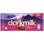 Milka darkmilk Himbeer 85g
