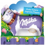 """Milka Lila Kuh Alpenmilch """"Frohe Ostern"""""""